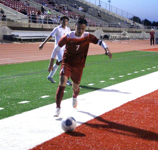 Ardmore's Juan Lopez was recently selected to the Oklahoma Soccer Coaches Association All-State boys soccer team. The senior led the Tigers in scoring as they finished the 2021 campaign with a 13-4 overall record.