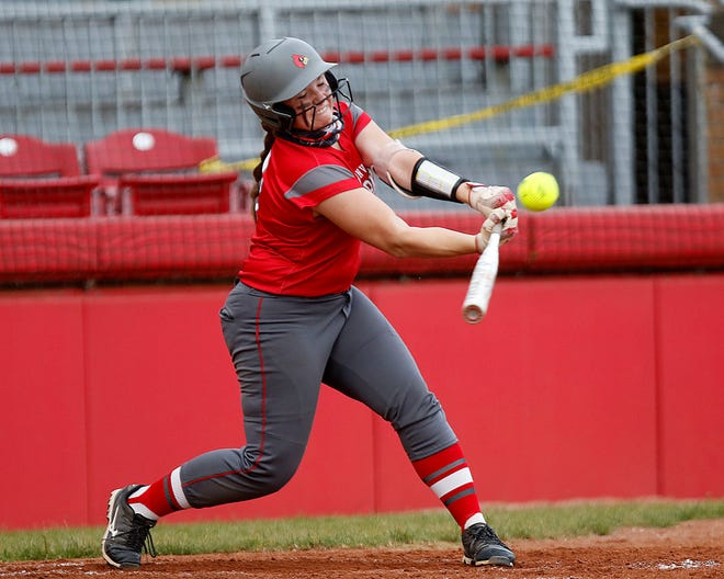 Loudonville's Brooke Christine was named the 2021 Mid-Buckeye Conference Most Valuable Player in softball.