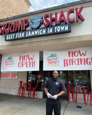 Brandon Dotson is the owner of the new Skrimp Shack in south Augusta. Dotson has lived in the area for the past eight years, working as a high school teacher.