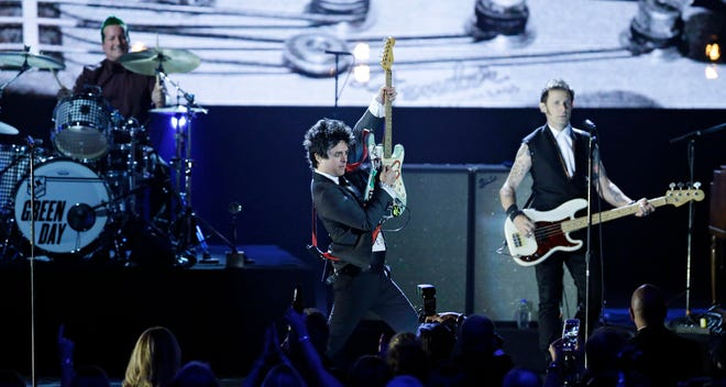 Green Day will perform Aug. 17 in Columbus at Historic Crew Stadium.