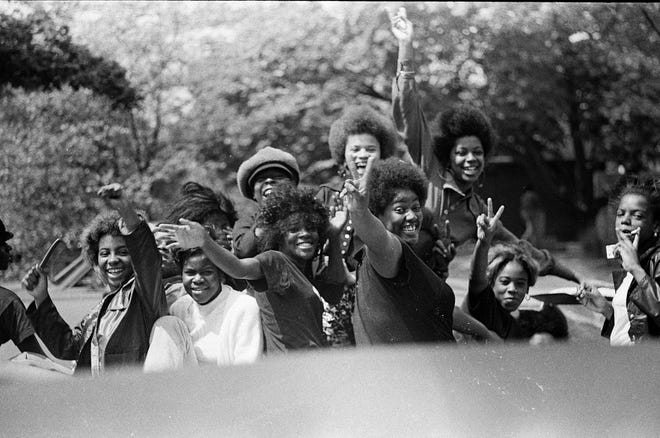 """""""We would stand on the side of the hill chitchatting and socializing. We weren't into drugs or drinking. There were folks driving through every Sunday. It was just a nice, social time.""""   — Jerry Saunders Sr., CEO of the Africentric Personal Development Shop and a former Columbus Recreation and Parks commissioner"""