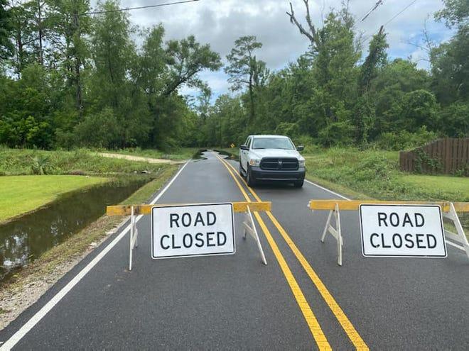 Laurel Valley Road is closed in Thibodaux.