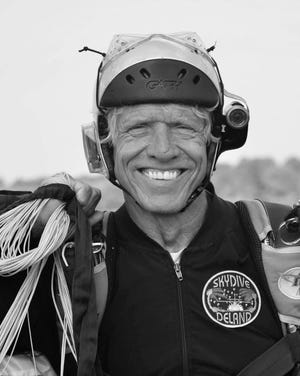 Skydive DeLand instructor Carl Daugherty died Sunday, May 16, following a skydiving accident in DeLand.
