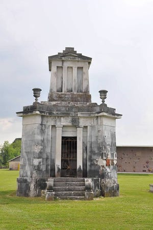 Efforts are underway to preserve the Landry Tomb in the Ascension of Our Lord Cemetery in Donaldsonville.