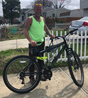Dennis Knapp, 50, of North Middletown, New Jersey, said having a stroke scared him so much that he knew he had to make some changes in his life.