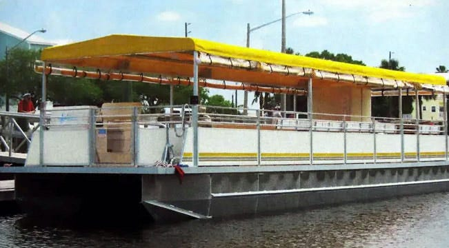 Dale Hunt, who, with his partners in Iowa-based Mississippi River Experience, will start 90-minute excursion tours in their 45-foot-long, 12-foot-wide, all-weather pontoon, Legacy, Sunday at Southside City dock in Keokuk. Burlington will get three weekly tours, from the north side of the Port of Burlington, on Thursday, Friday and Saturday. Cruises fromthe Fort Madison Riverview Marina will take place on Tuesday and Wednesday, and Keokuk excursions will leave from its dock every Sunday and Monday.