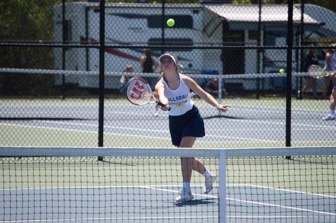 Hillsdale Tennis will host the Regionals on Wednesday