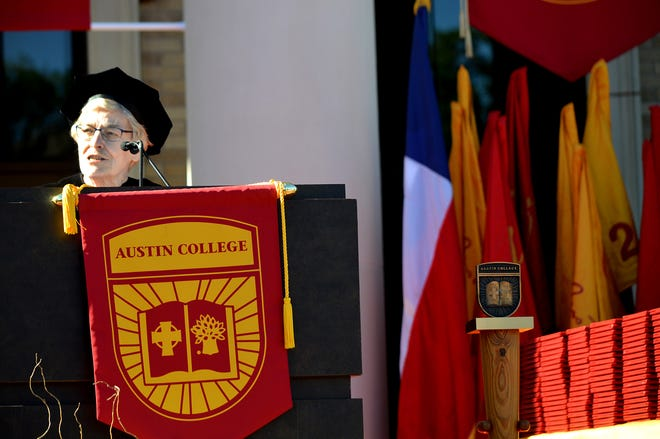 The Austin College 2019 commencement address came from Dr. Ruth Whiteside, a 1964 graduate of the school.
