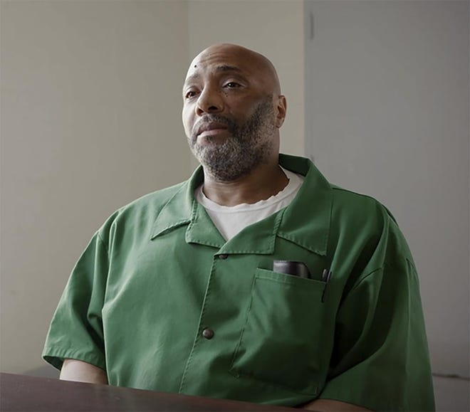 This Aug. 17, 2018, photo provided by Justice 360 shows death row inmate Richard Moore at Kirkland Reception and Evaluation Center in Columbia, S.C. Moore was sentenced to death in the 1999 fatal shooting of James Mahoney, a convenience store clerk in Spartanburg County, S.C.