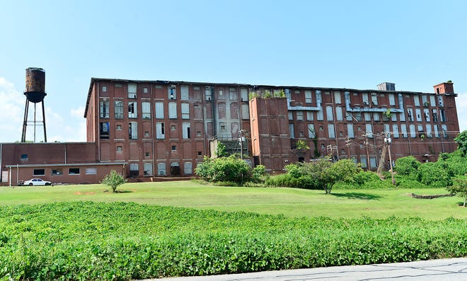 The old Converse Mill on Highway 29 in Spartanburg is being redeveloped into 173 loft apartments. Converse Mill Lofts is set to be completed by December 2022