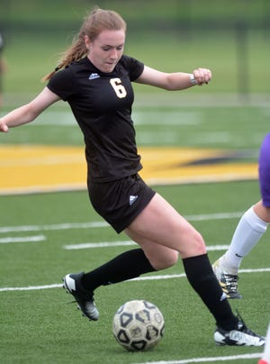 Newton freshman Sophia Hauser scored two goals with an assist in a 6-0 regional win over Arkansas City. The Railers snapped an 11-game losing streak.