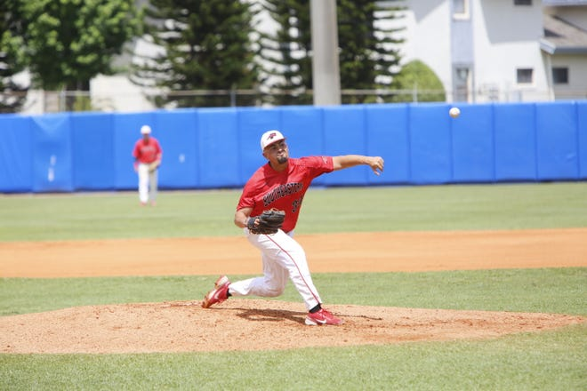 Southeastern starting pitcher Ryan Munoz hurled a complete game to get the Fire to within one game of the NAIA World Series.