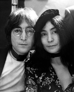 """John Lennon and Yoko Ono are featured in """"1971: The Year That Music Changed Everything,"""" premiering May 21, 2021 on Apple TV+."""