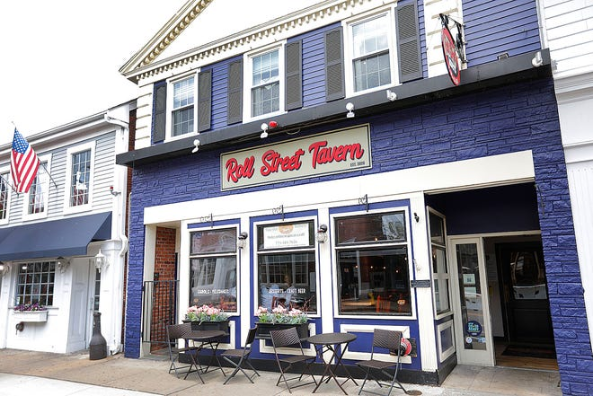 Roll Street Tavern opened on Plymouth's Main St. in September 2020, serving shareable, rolled comfort foods.