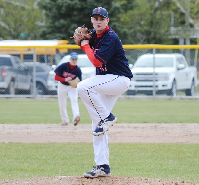 Boyne City's Michael Deming tossed a four-inning no-hitter in a mercy win over Kalkaska.