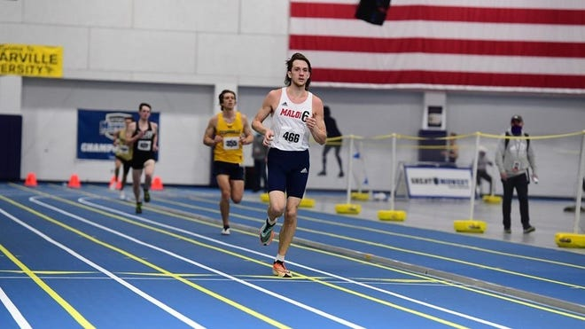 Malone's Noah Schaub is among the 11 athletes from Malone and Walsh on this year's NCAA Division II All-Academic Track and Field Team.