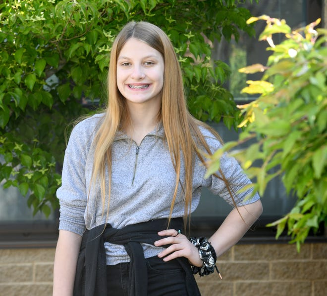 Kaniah Lamp, a Fairless Middle School student, is a Massillon Independent Akron Children's Hospital Kid of Character for May.