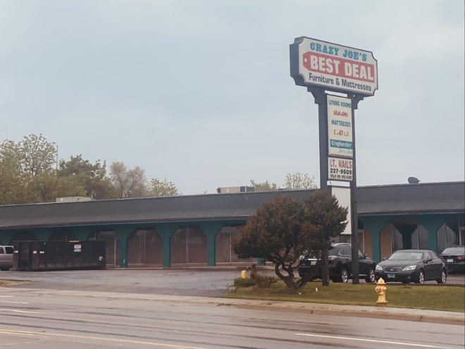 Crazy Joe's Best Deal Furniture & Mattresses, 4435 E. State St., closed for good on April 25. Crazy Joe's Janesville, Wisconsin, store remains open.