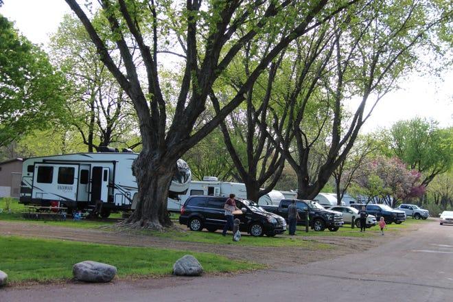 Sportsmen's Park campground in Sleepy Eye