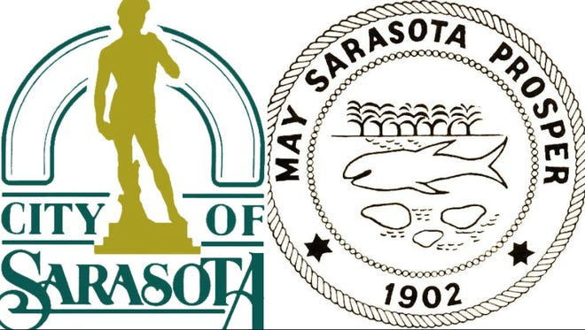 The city of Sarasota is looking to replace its official logo and seal.