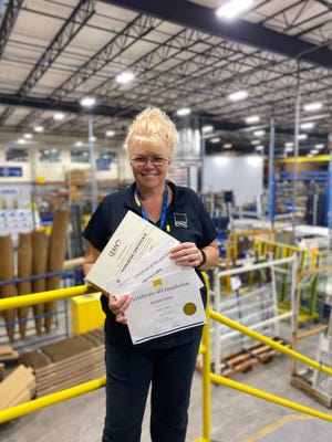 """""""Women have always been a valuable part of manufacturing,"""" said Sherrie Collins, a Group Leader for PGT Innovations."""