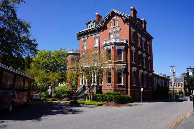 Built in 1893, , the Kehoe House is easily one the most impressive mansions in Savannah.