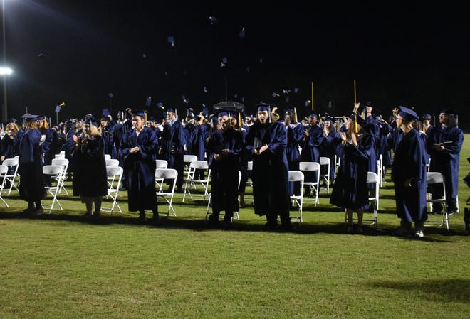The Class of 2021 celebrated their graduation with an outdoor ceremony.