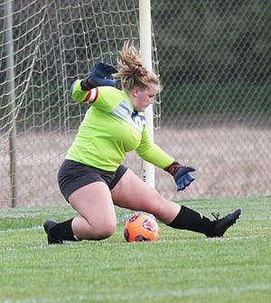 Sturgis goalie Rylee Wanamaker was selected Second Team All-Conference for this season.
