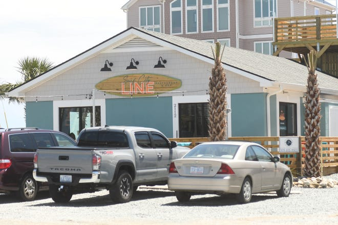 Surf City Line Restaurant and Bar in Surf City N.C. Friday May7, 2021.