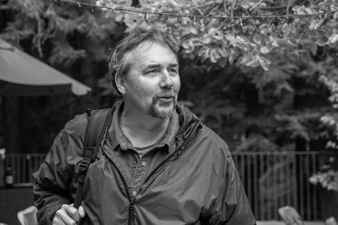 "UNCW Creative Writing Department Chair David Gessner's new book is ""Quiet Desperation, Savage Delight."""