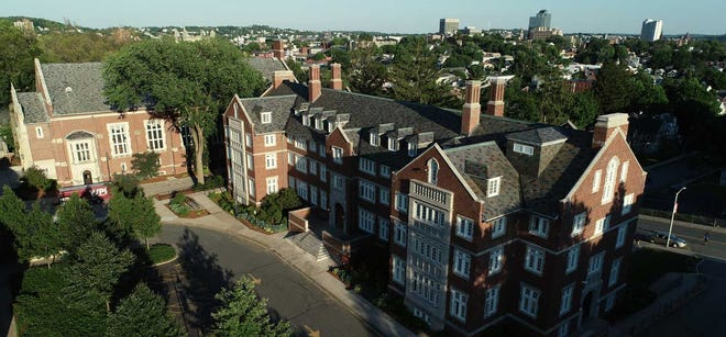 WPI campus in Worcester