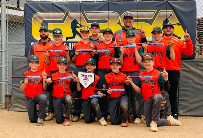 12U Renegades baseball team