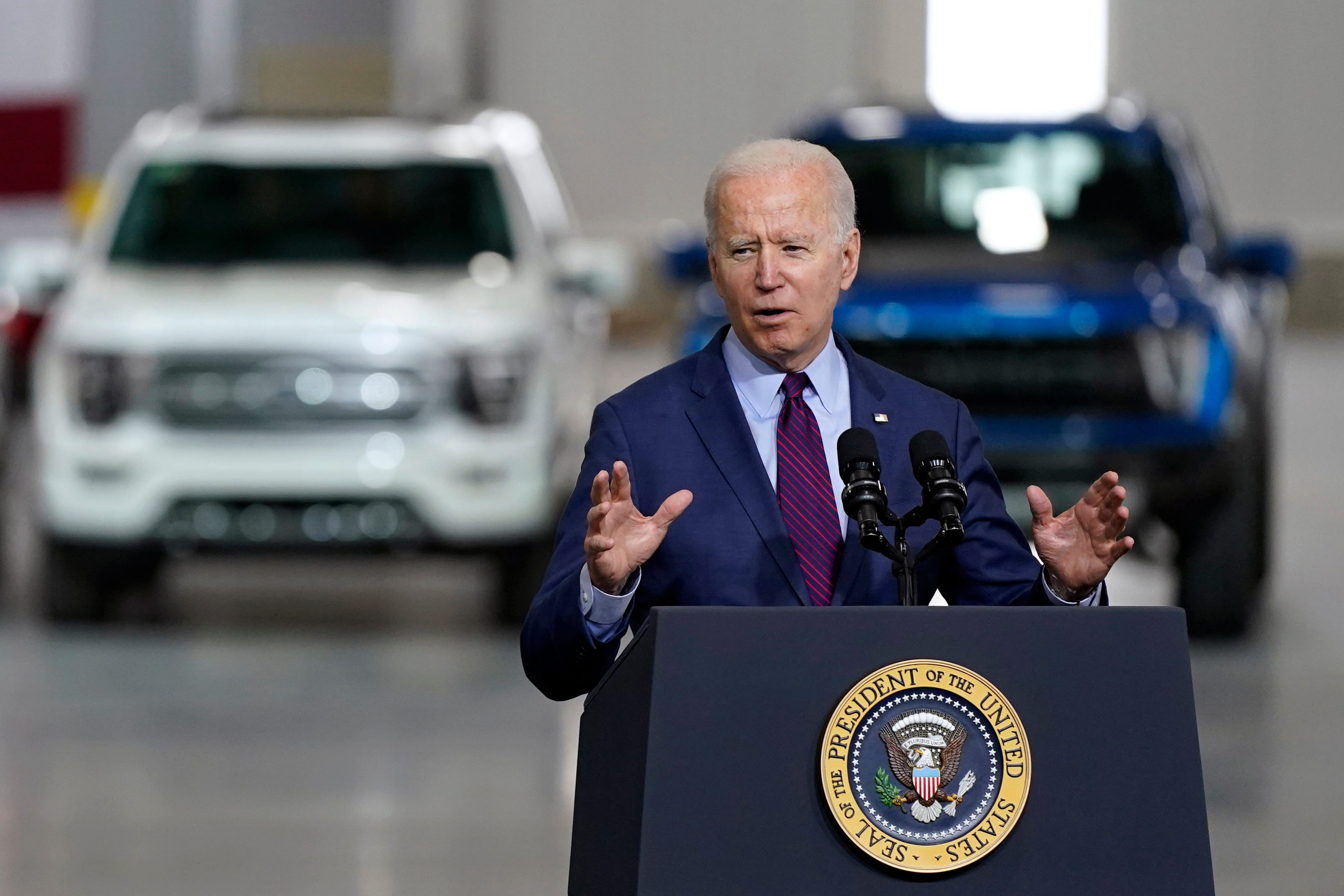 President Biden to pitch infrastructure bill, 'Build Back Better' plan during Howell trip