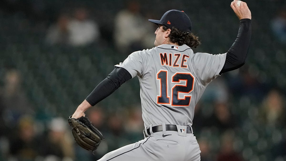 'He was in attack mode:' Mize dominant, Haase homers twice as Tigers beat Mariners 1