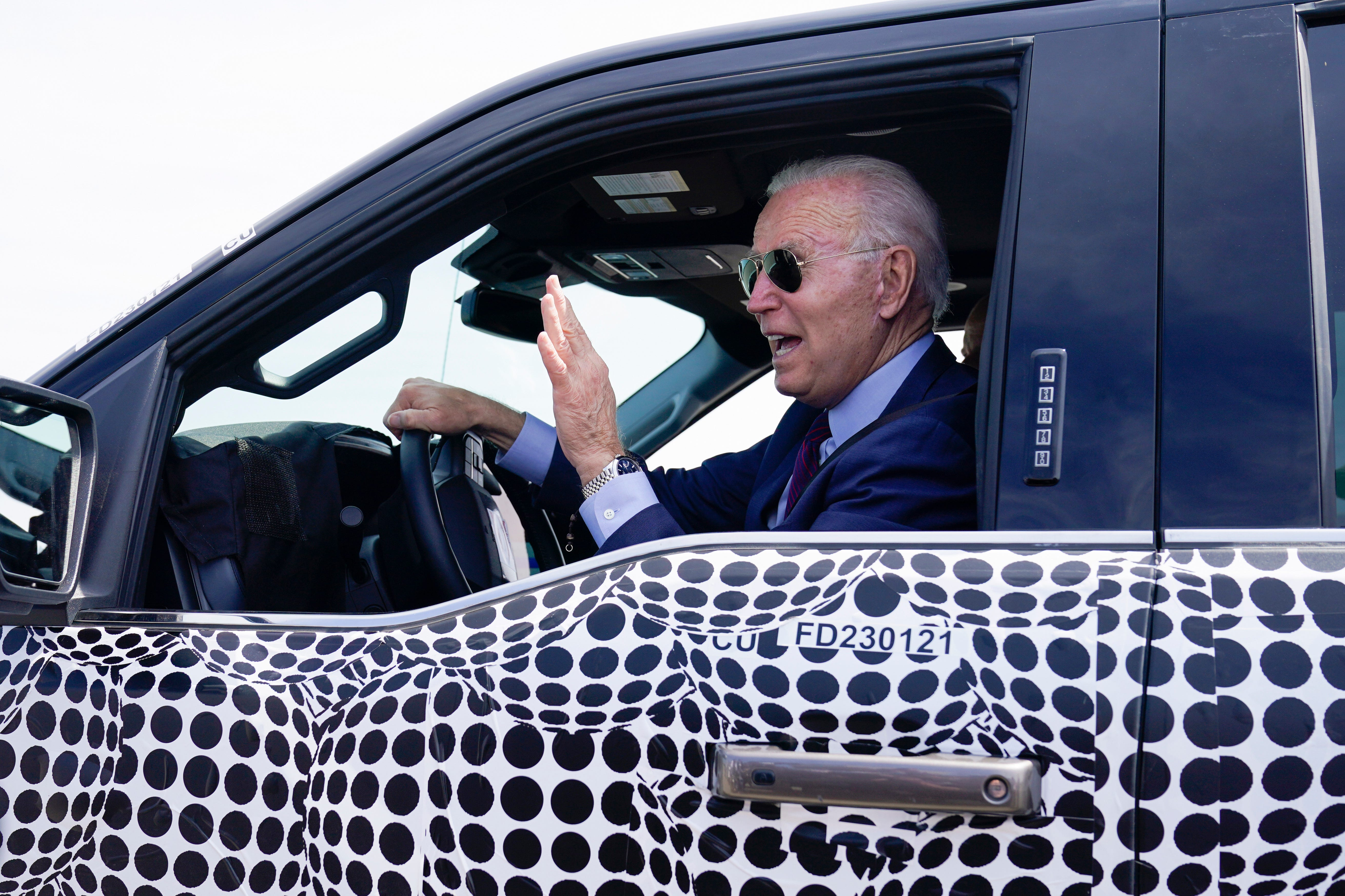Biden jokes about running over reporter asking about Israel 2