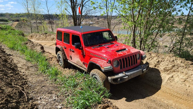 The 2021 Jeep Wrangler Rubicon 392 has all the off-road goodies - plus 470 horsepower.