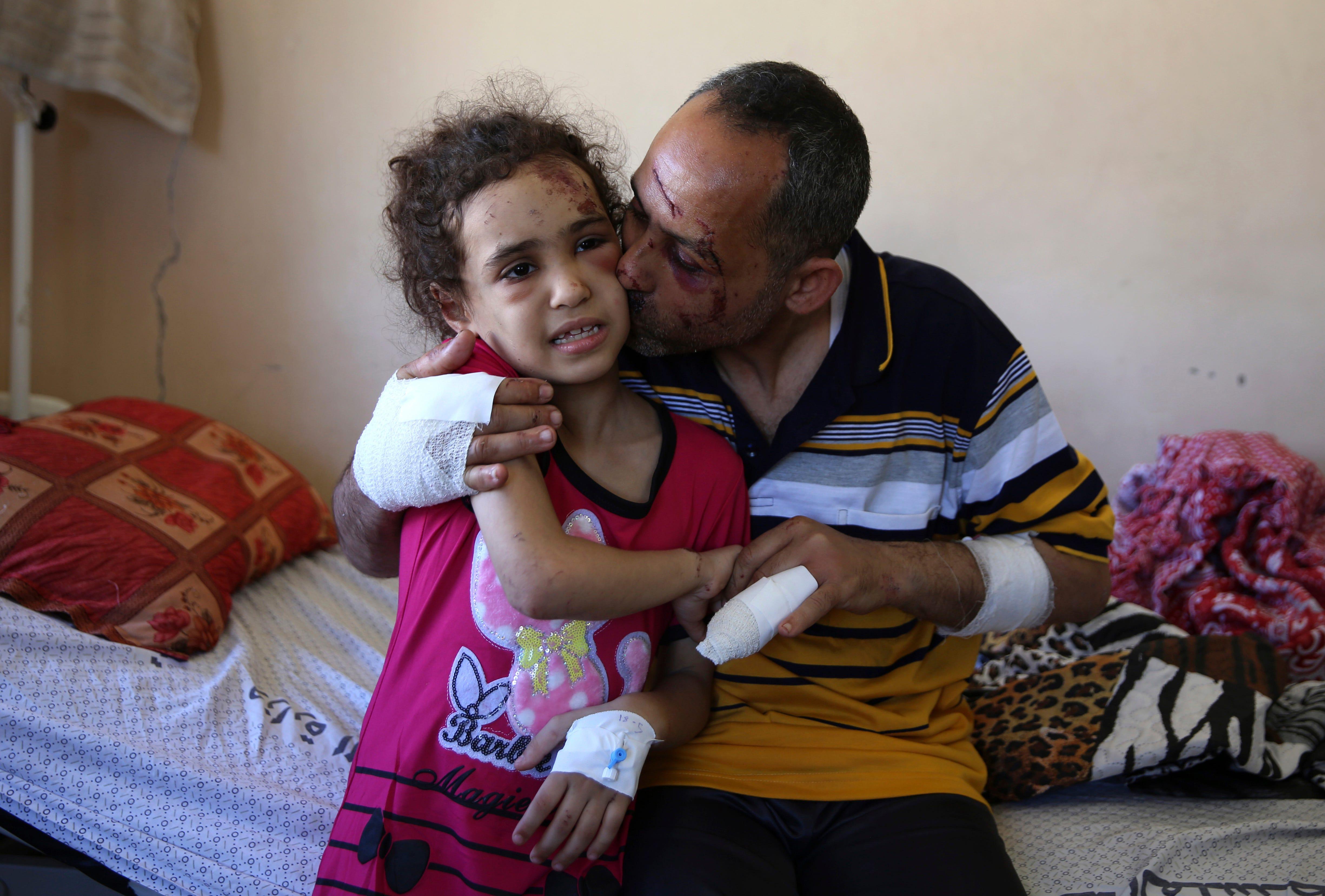 Gaza children bearing the brunt in Israel-Hamas conflict 2