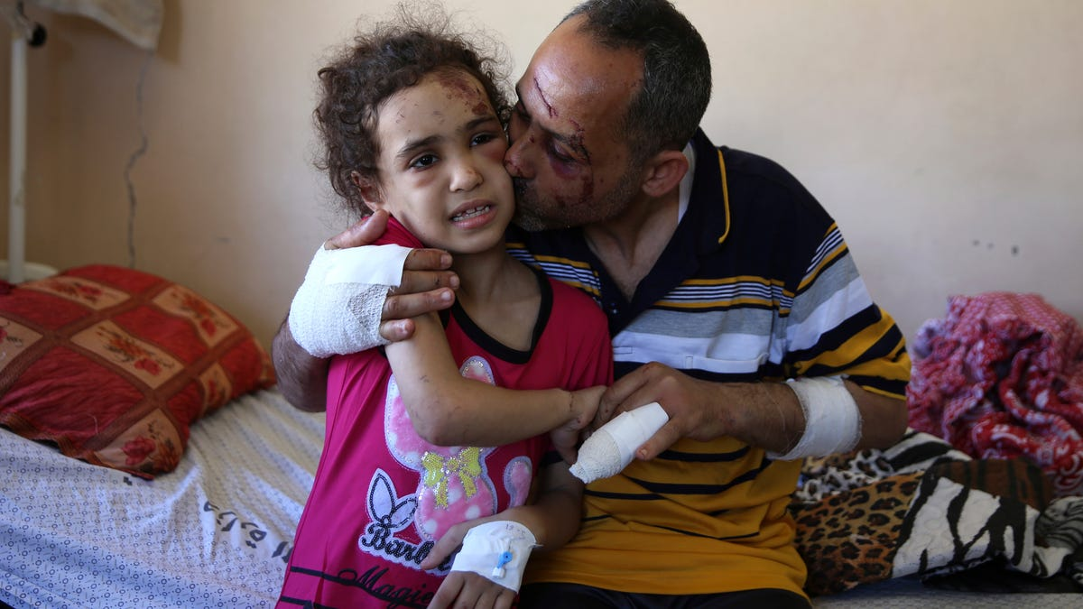 Gaza children bearing the brunt in Israel-Hamas conflict 3