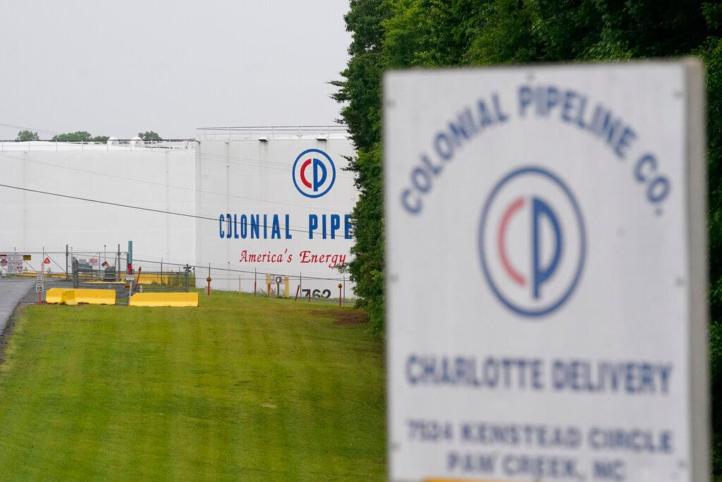 Colonial shippers say pipeline communication system is down 2