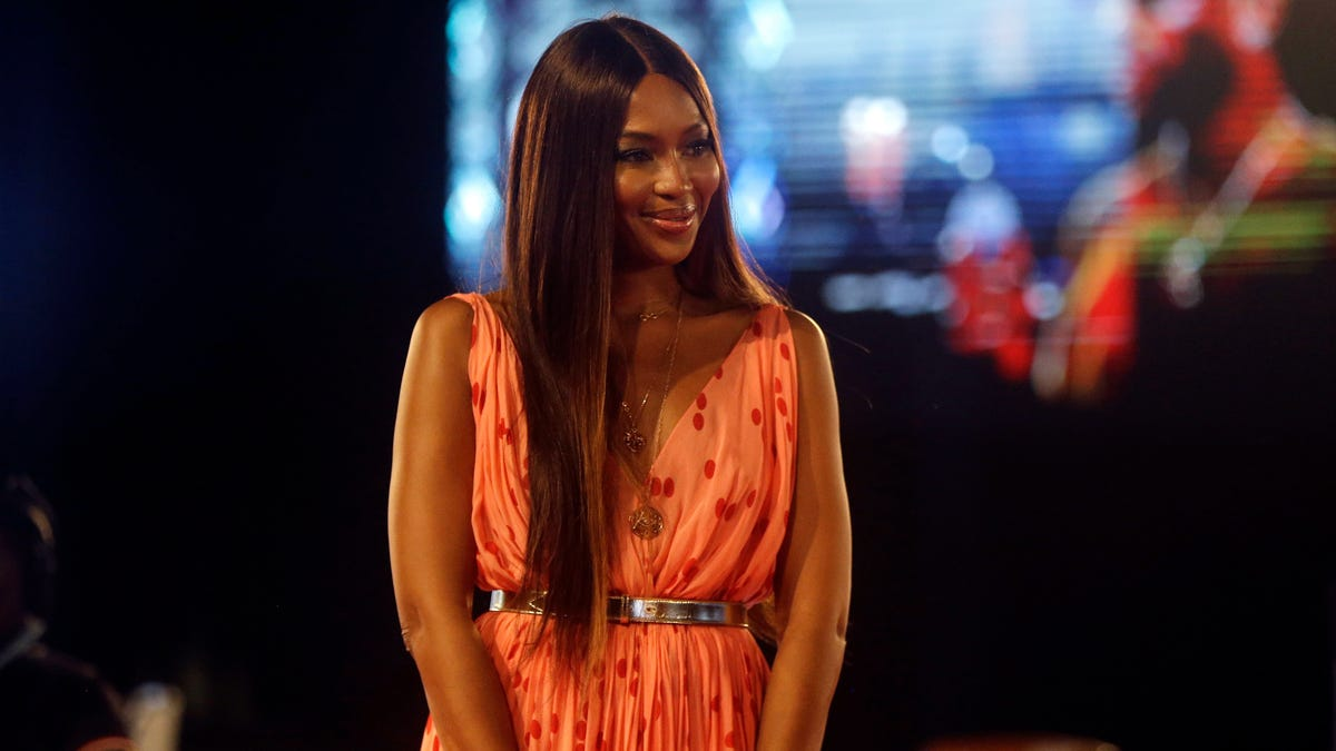 Model Naomi Campbell says she is mother to a baby girl at 50 1