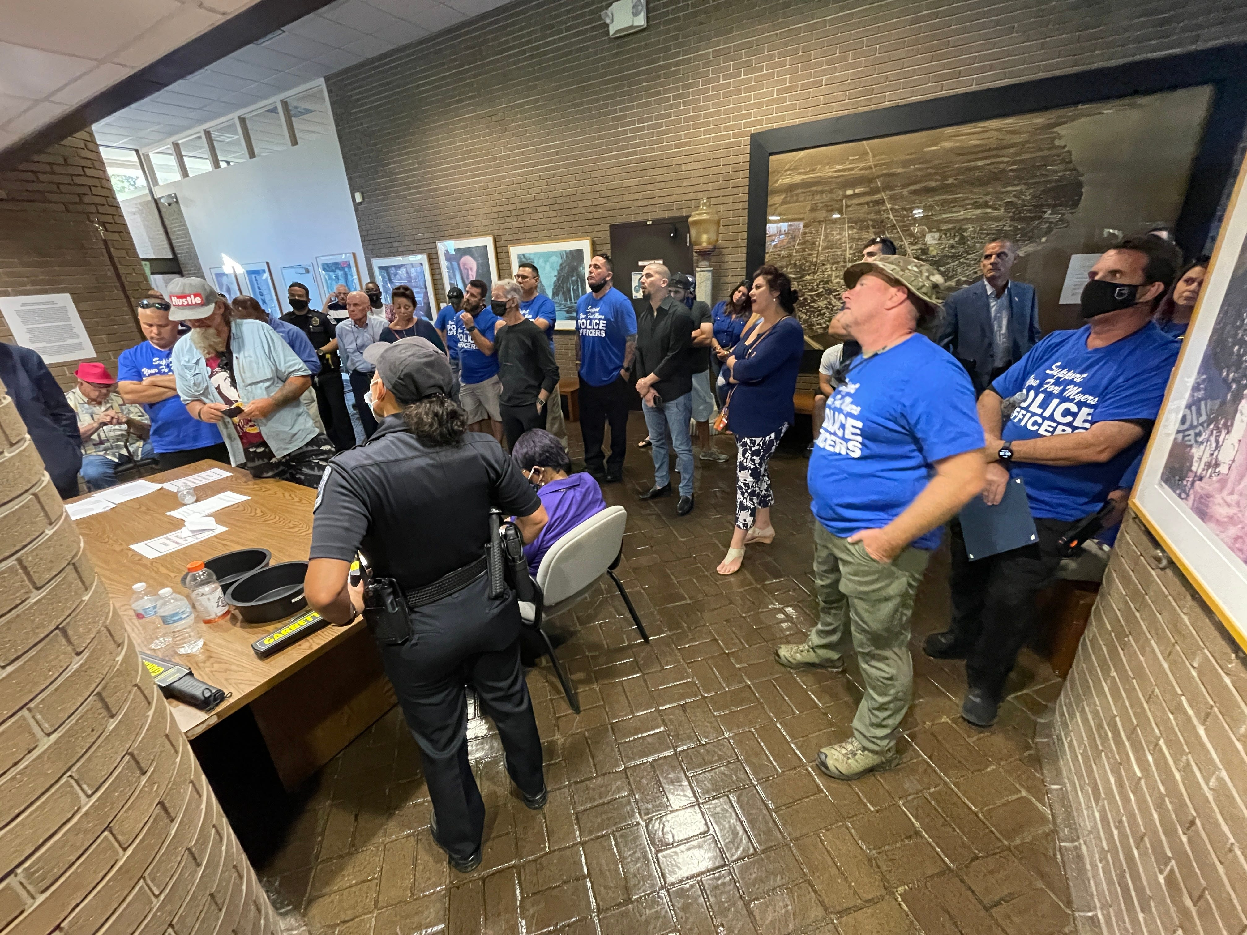 City of Fort Myers hears from supporters to keep FMPD intact 3