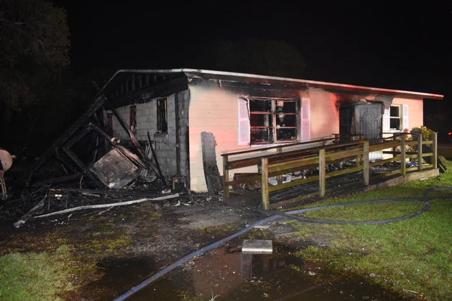 Firefighters from the Iona McGregor Fire District were called to a structure fire onDuera Mae Drivein the early morning hours of Tuesday.