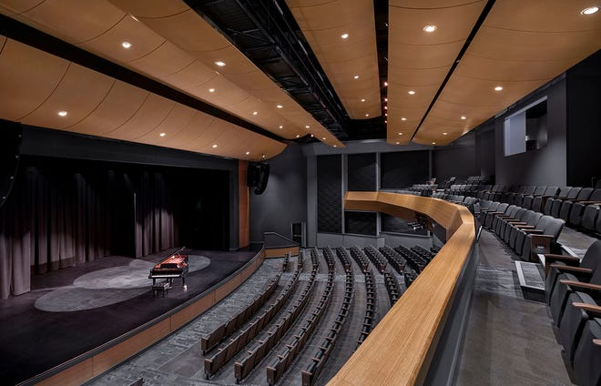 The Tribby Arts Center boasts the state-of-the-art, 400-seat Connie Brown Hall and studio facilities for a wide variety of practices.