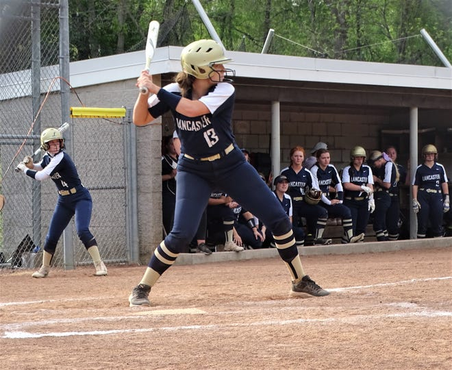 Lancaster senior Abbie Wilfing hit a walk-off single in the bottom of the seventh inning to give the Lady Gales a 6-5  Division I district semifinal win over Westerville South on Monday.