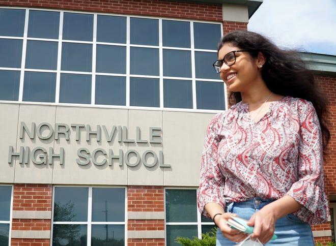 2021 Presidential Scholar and Northville High senior Shriya Reddy.