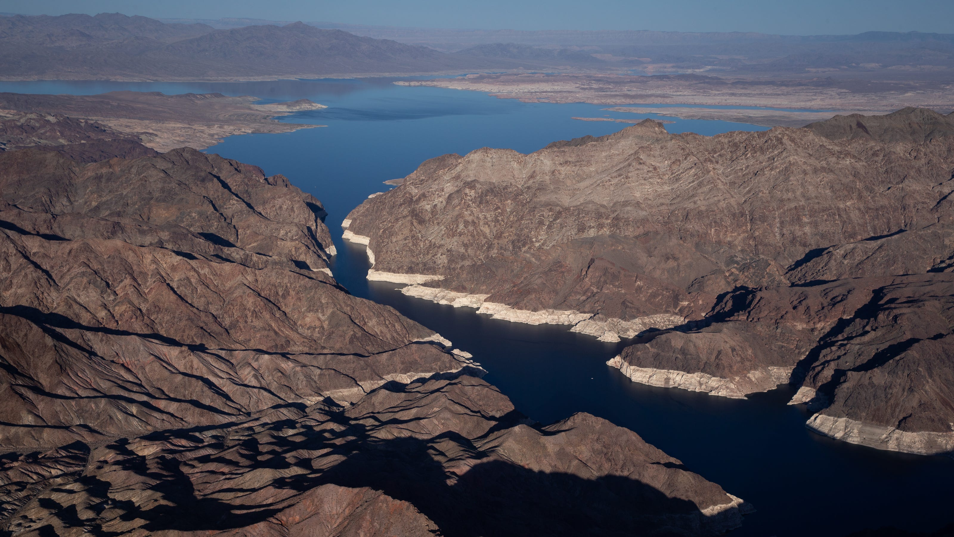 The federal government on Monday declared the first water shortage on the Colorado River, announcing mandatorycutbacks next year that will bring maj