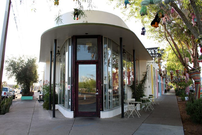 El edificio histórico de Bragg's Pie Factory es el sitio de Bacanora en Phoenix, el 13 de mayo de 2021.