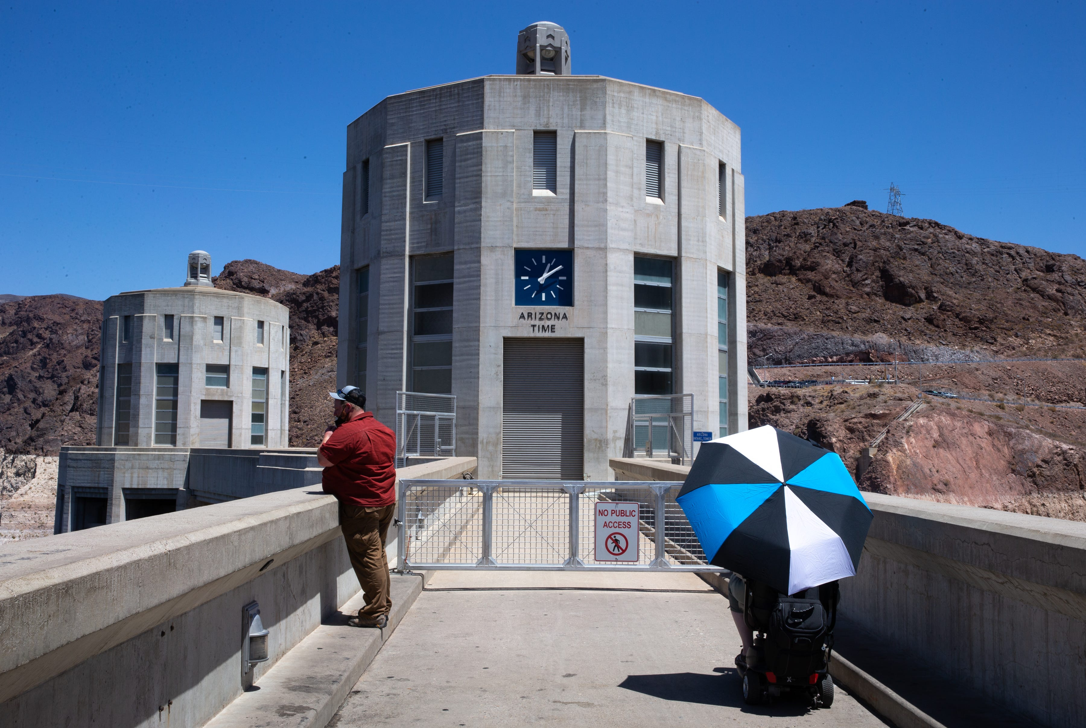 Hoover Dam, on the Arizona/Nevada border, is one of the great feats of engineering.