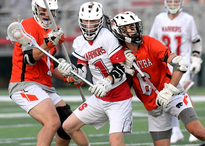 Ben Tomasic, center, and his Susquehannock teammates will play for a District 3 Class 2-A championship on Wednesday.