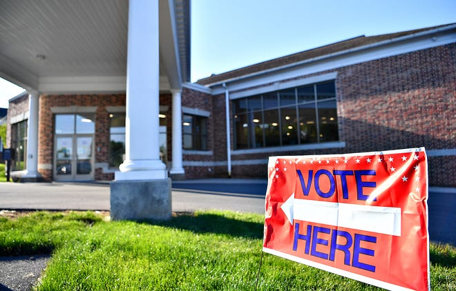 Advent Lutheran Church during the primary election in Springettsbury Township, Tuesday, May 18, 2021. Dawn J. Sagert photo